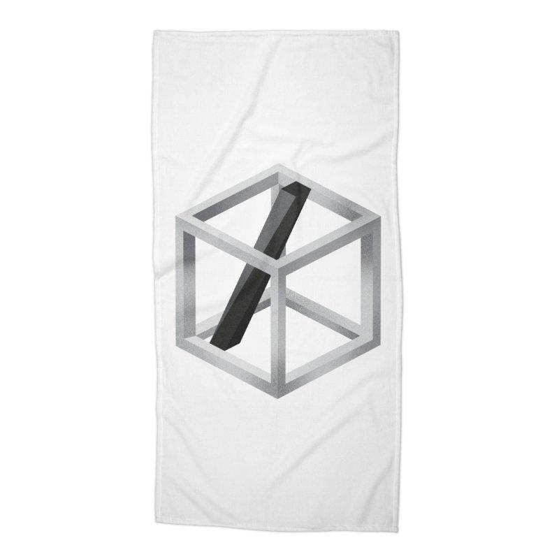 Slide Accessories Beach Towel by Myno's Artist Shop