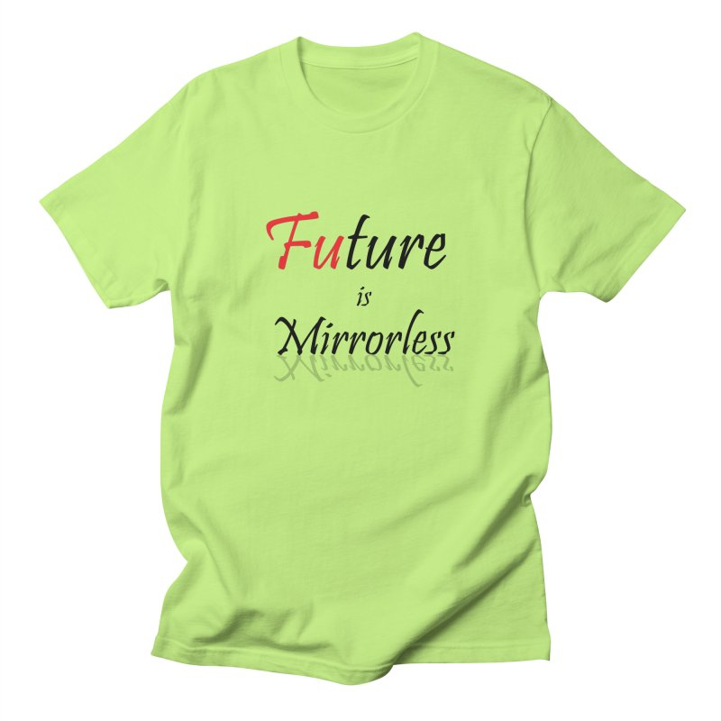 Future is Mirrorless Men's Regular T-Shirt by thenewcamera's Artist Shop