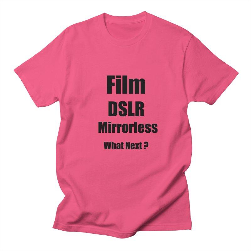 Film DSLR Mirrorless - What Next ? Men's Regular T-Shirt by thenewcamera's Artist Shop