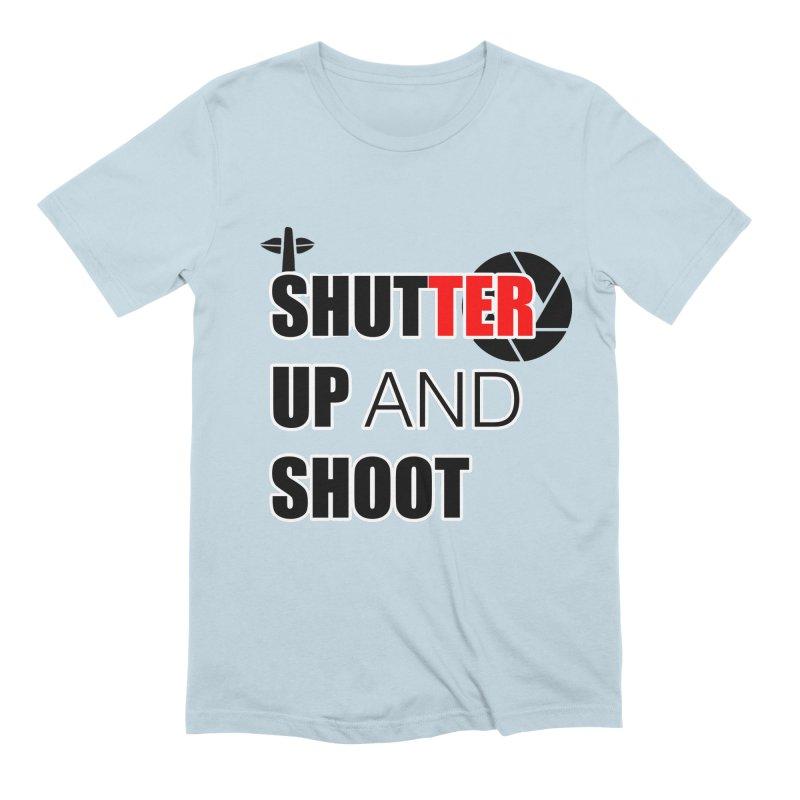 Shut up and Shoot - Photographers T Shirt Men's Extra Soft T-Shirt by thenewcamera's Artist Shop