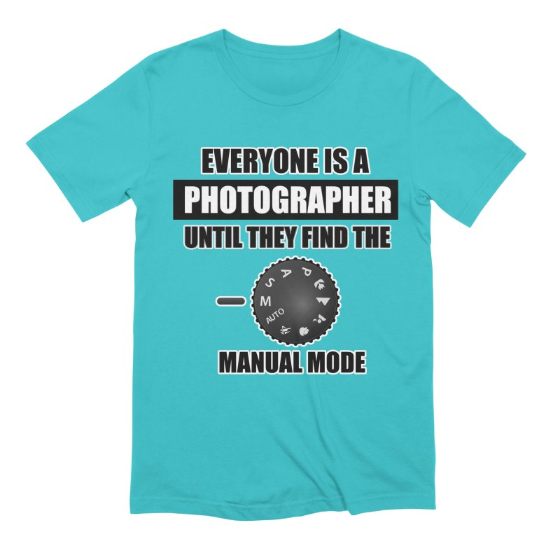 Everyone is a photographer T Shirt - Photographers T Shirt Men's Extra Soft T-Shirt by thenewcamera's Artist Shop