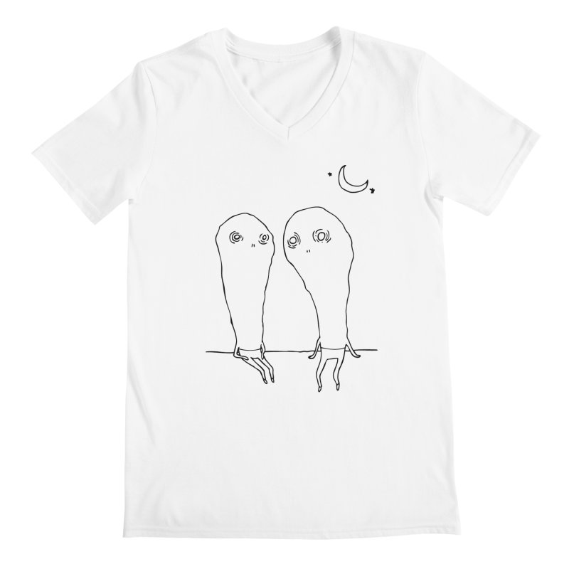 Cuties Men's V-Neck by The Normal Shirt Shop