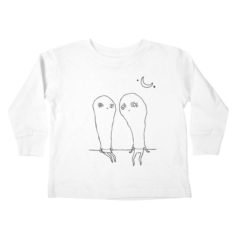 Cuties Kids Toddler Longsleeve T-Shirt by The Normal Shirt Shop
