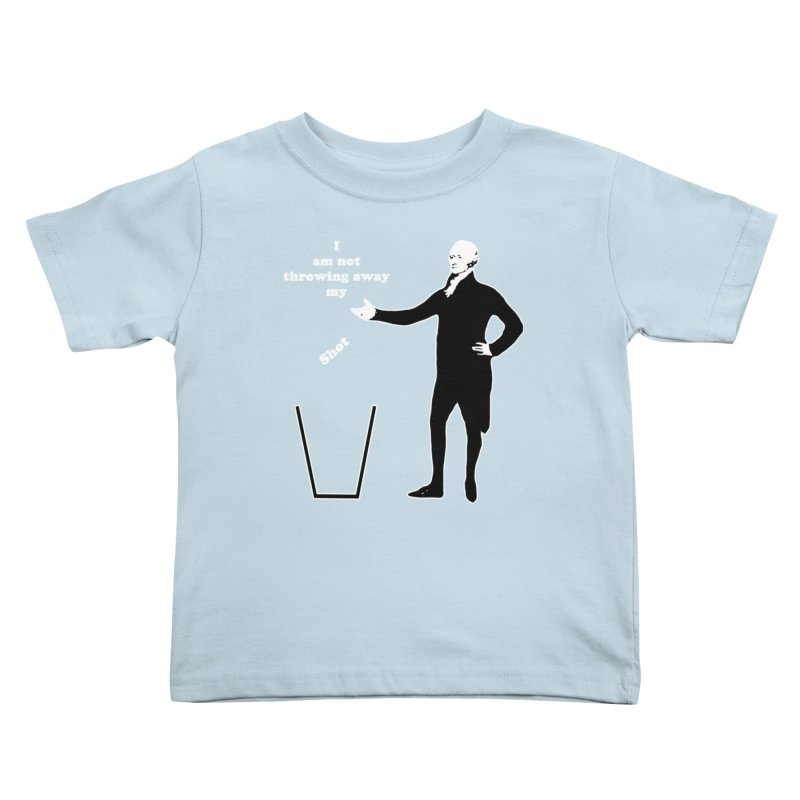 Alex Kids Toddler T-Shirt by The Normal Shirt Shop