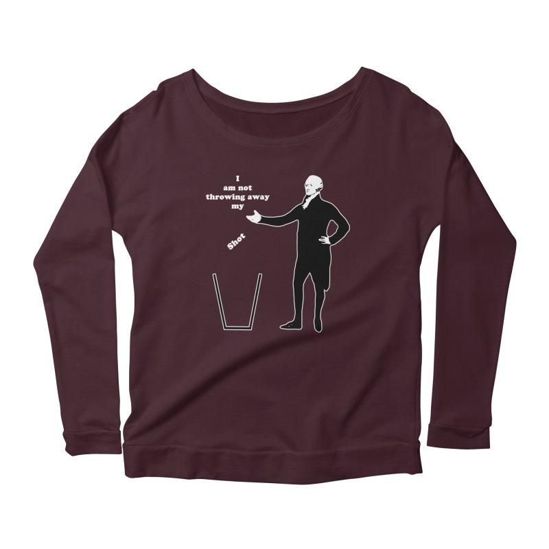 Alex Women's Longsleeve Scoopneck  by The Normal Shirt Shop