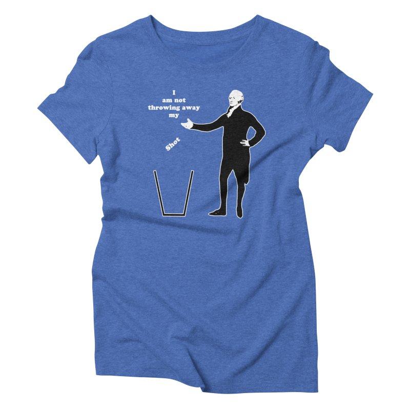 Alex Women's Triblend T-Shirt by The Normal Shirt Shop