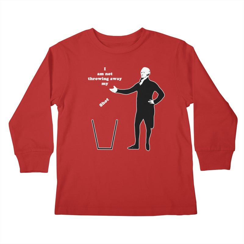 Alex Kids Longsleeve T-Shirt by The Normal Shirt Shop