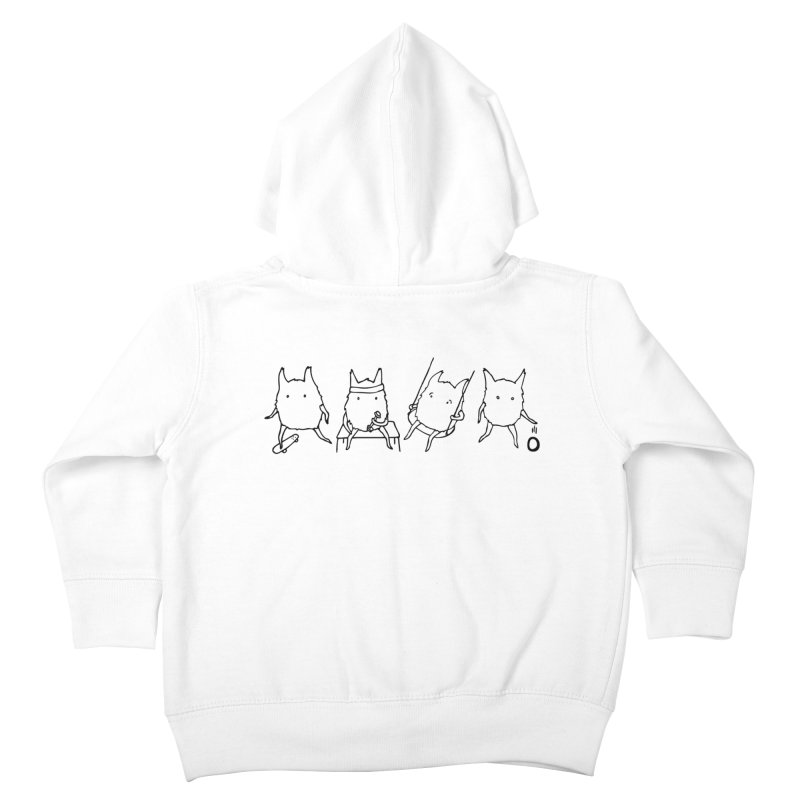 Glerb: It's What They Do Kids Toddler Zip-Up Hoody by The Normal Shirt Shop