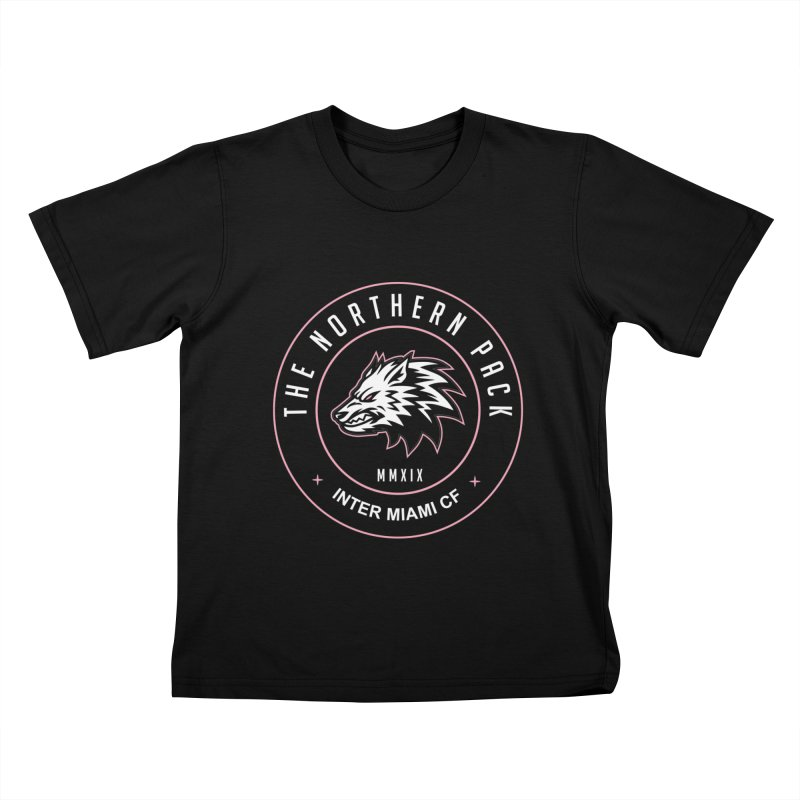 Logo with White Letters Kids T-Shirt by THE NORTHERN PACK CF's Shop