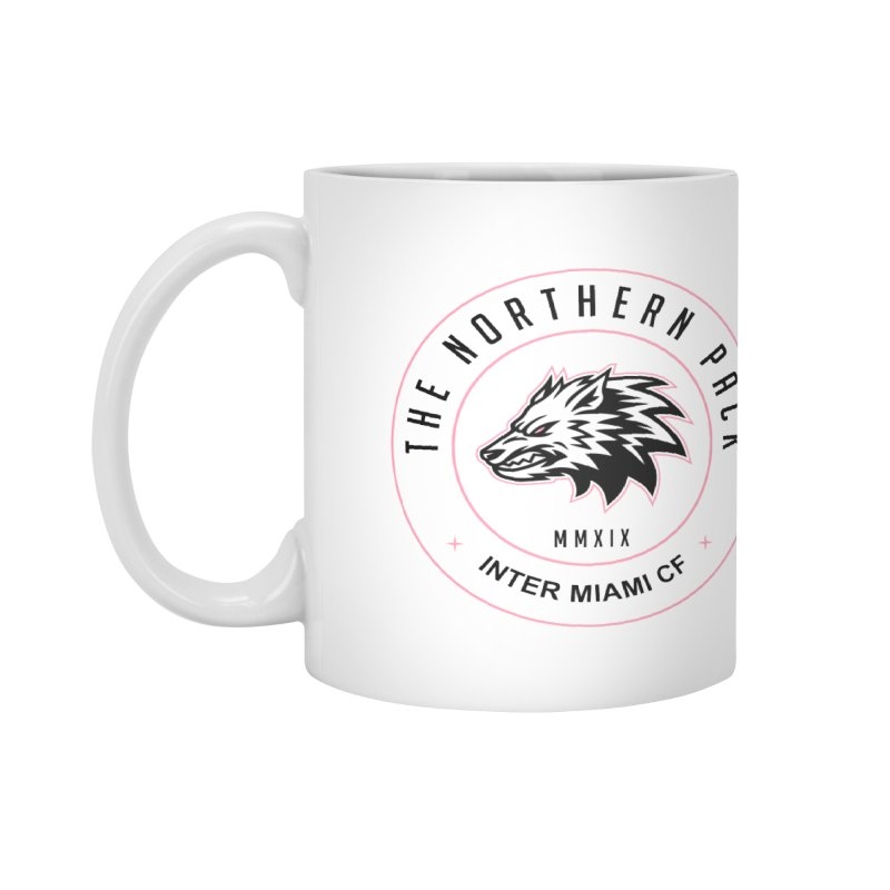 Logo with Black Letters Accessories Mug by THE NORTHERN PACK CF's Shop