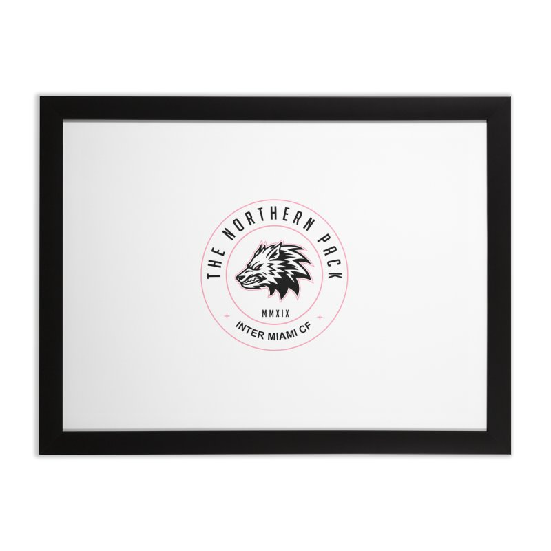 Logo with Black Letters Home Framed Fine Art Print by THE NORTHERN PACK CF's Shop