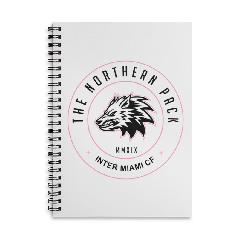 Logo with Black Letters Accessories Notebook by THE NORTHERN PACK CF's Shop