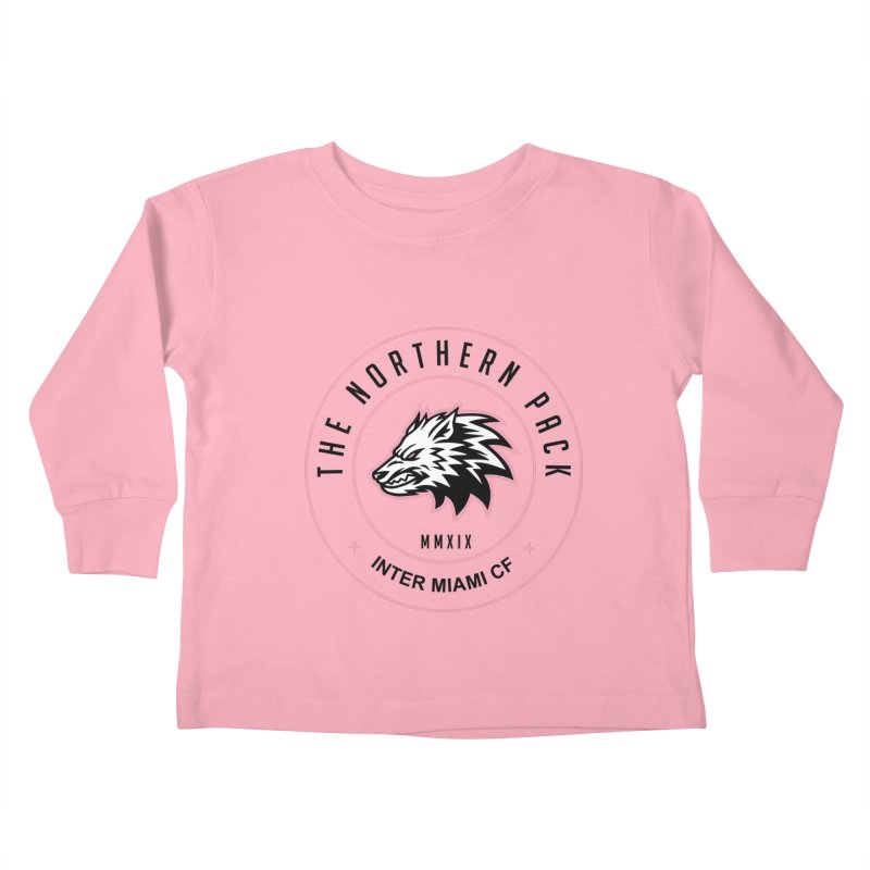 Logo with Black Letters Kids Toddler Longsleeve T-Shirt by THE NORTHERN PACK CF's Shop