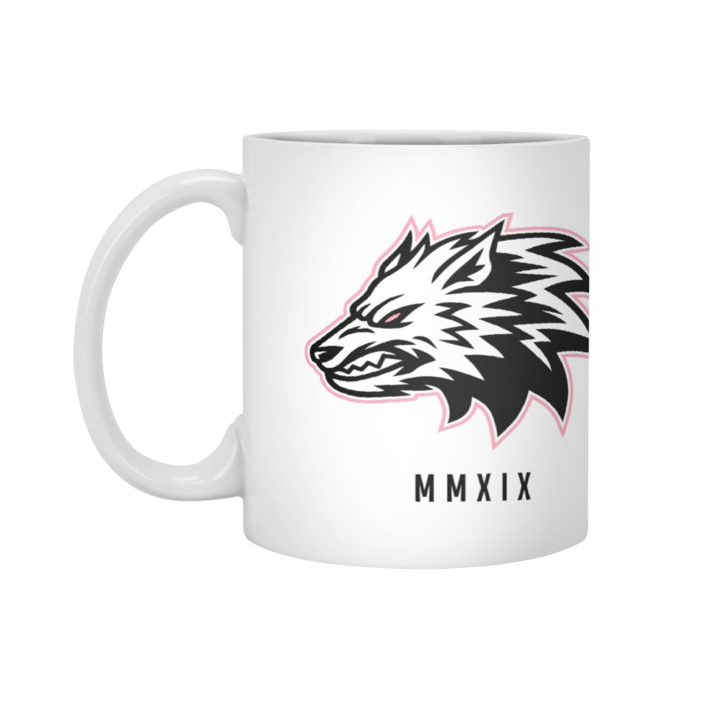 Wolf MMXIX Accessories Mug by THE NORTHERN PACK CF's Shop