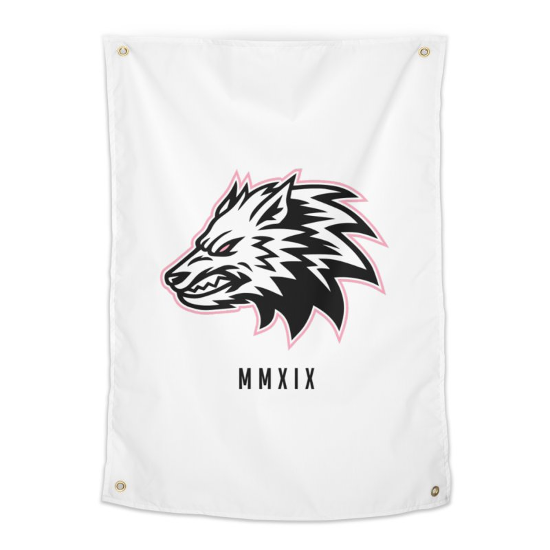 Wolf MMXIX Home Tapestry by THE NORTHERN PACK CF's Shop