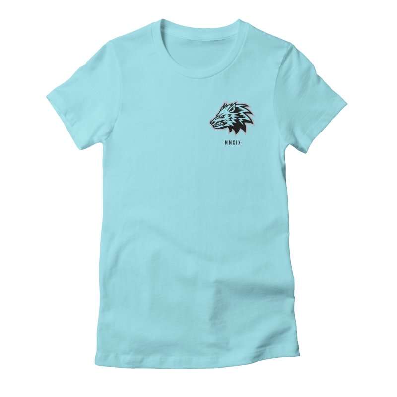 Wolf MMXIX Women's T-Shirt by THE NORTHERN PACK CF's Shop
