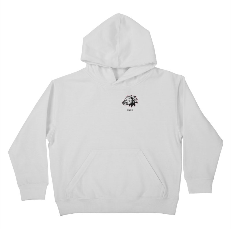 Wolf MMXIX Kids Pullover Hoody by THE NORTHERN PACK CF's Shop