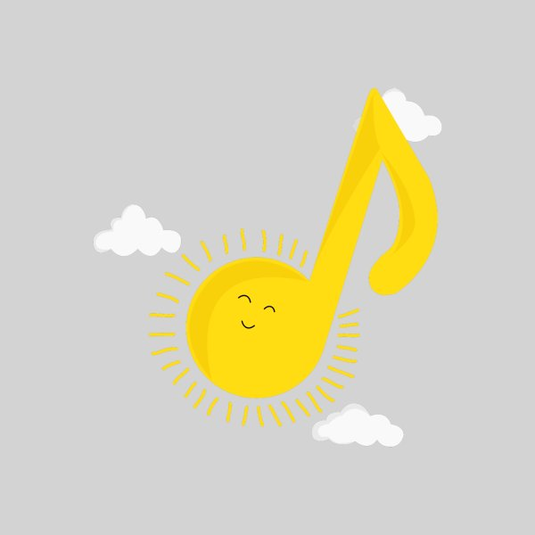 image for Music brightens my day