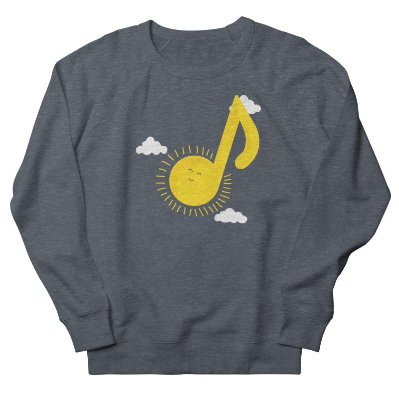 Music brightens my day Men's Sweatshirt by theo86's Artist Shop