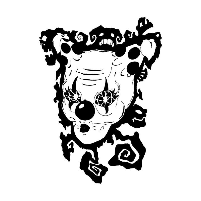 Crazy Clown Girl 6 Women's V-Neck by theocavi's Artist Shop