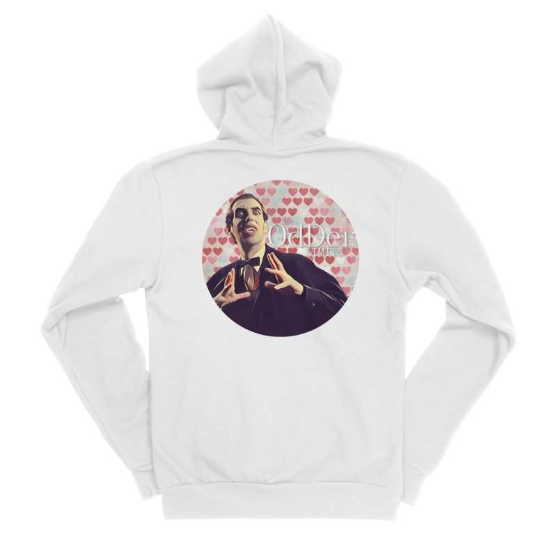Dark Side of The Heart Women's Zip-Up Hoody by The OdDer Limits Shop