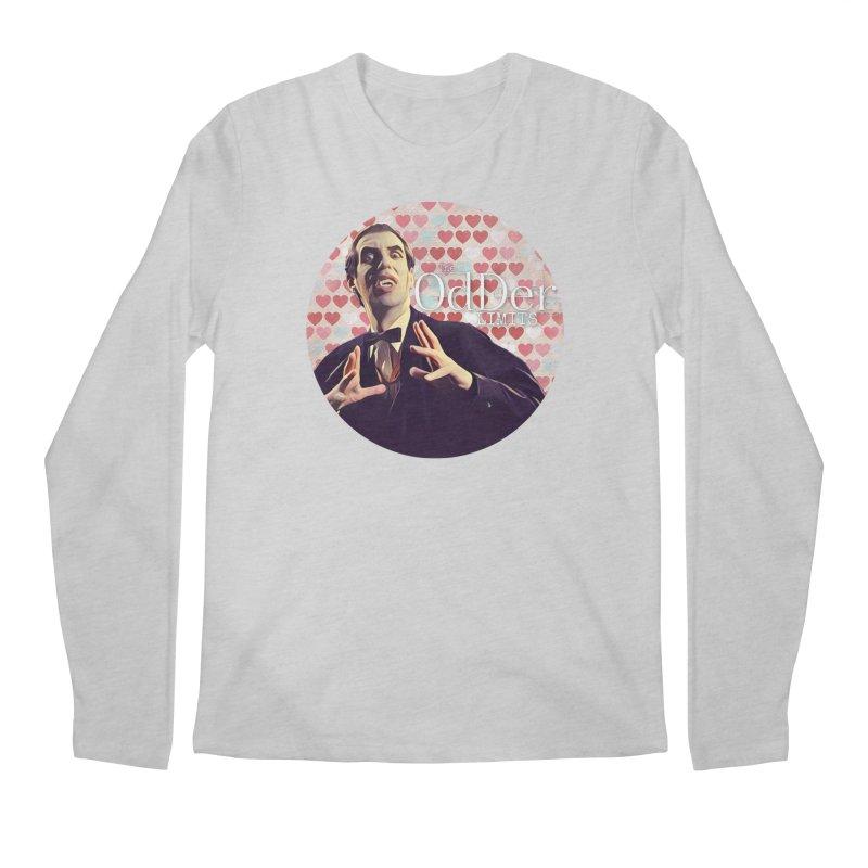 Dark Side of The Heart Men's Longsleeve T-Shirt by The OdDer Limits Shop