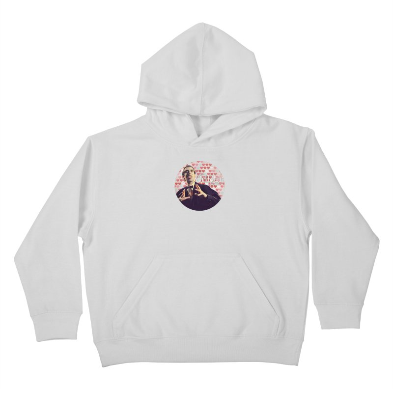 Dark Side of The Heart Kids Pullover Hoody by The OdDer Limits Shop