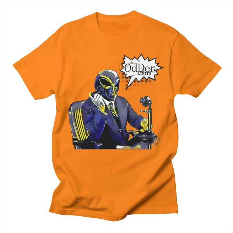 Phone Home Men's T-Shirt by The OdDer Limits Shop
