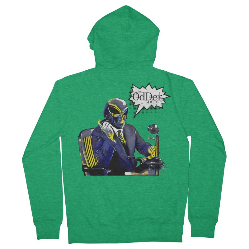Phone Home Women's Zip-Up Hoody by The OdDer Limits Shop