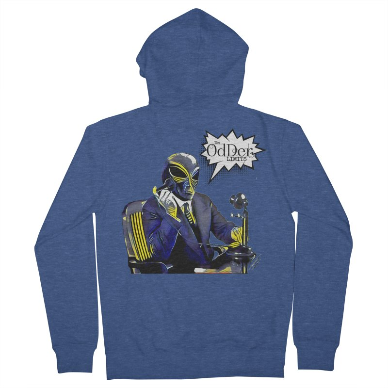 Phone Home Men's Zip-Up Hoody by The OdDer Limits Shop