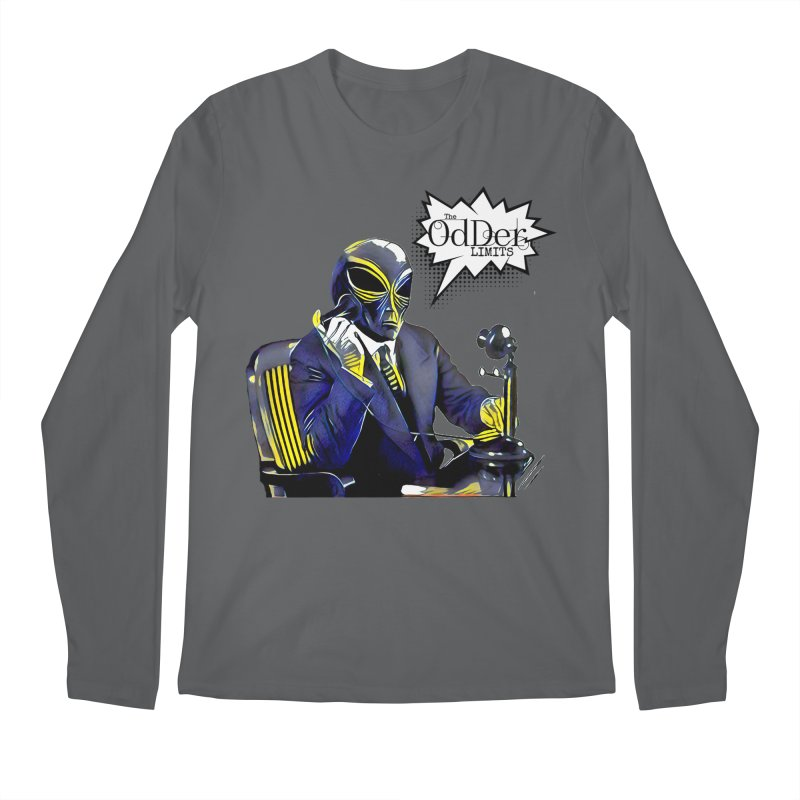 Phone Home Men's Longsleeve T-Shirt by The OdDer Limits Shop