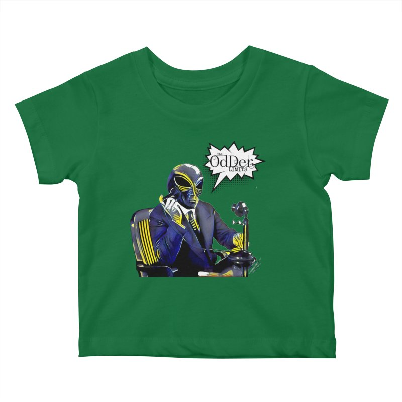 Phone Home Kids Baby T-Shirt by The OdDer Limits Shop