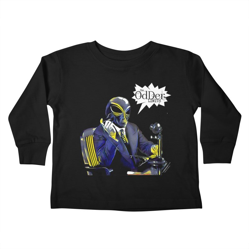 Phone Home Kids Toddler Longsleeve T-Shirt by The OdDer Limits Shop