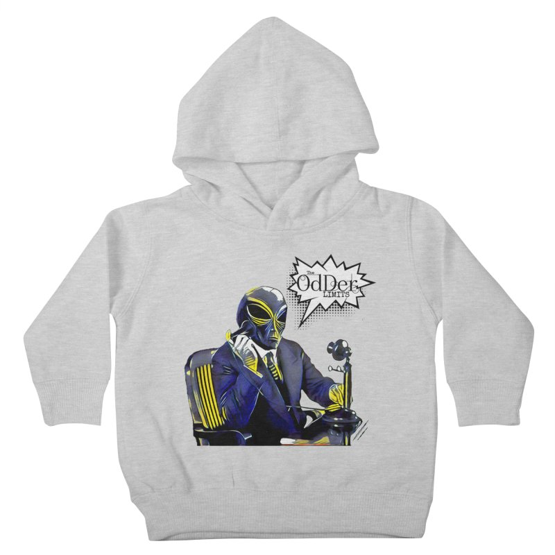 Phone Home Kids Toddler Pullover Hoody by The OdDer Limits Shop