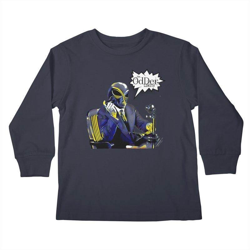 Phone Home Kids Longsleeve T-Shirt by The OdDer Limits Shop