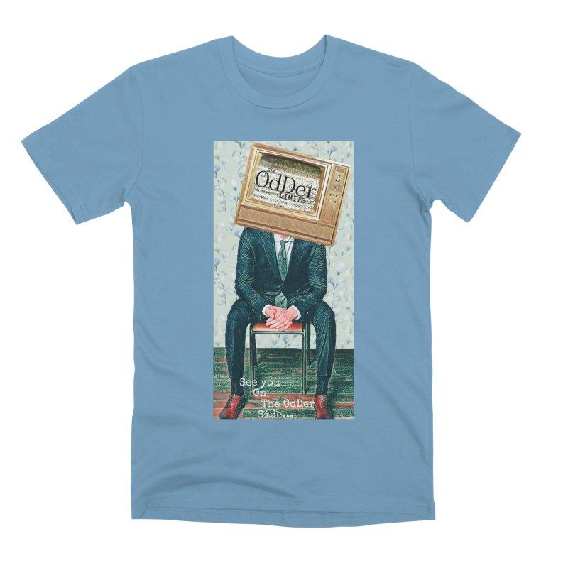 The OdDer TV Men's T-Shirt by The OdDer Limits Shop