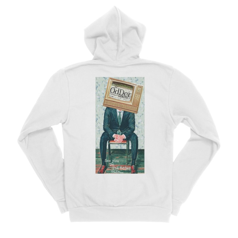 The OdDer TV Men's Zip-Up Hoody by The OdDer Limits Shop