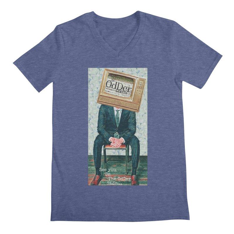 The OdDer TV Men's V-Neck by The OdDer Limits Shop
