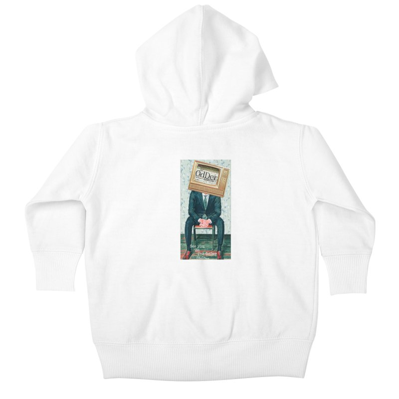 The OdDer TV Kids Baby Zip-Up Hoody by The OdDer Limits Shop