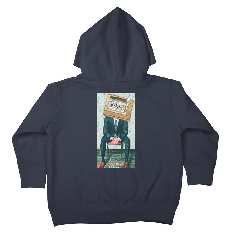 The OdDer TV Kids Toddler Zip-Up Hoody by The OdDer Limits Shop