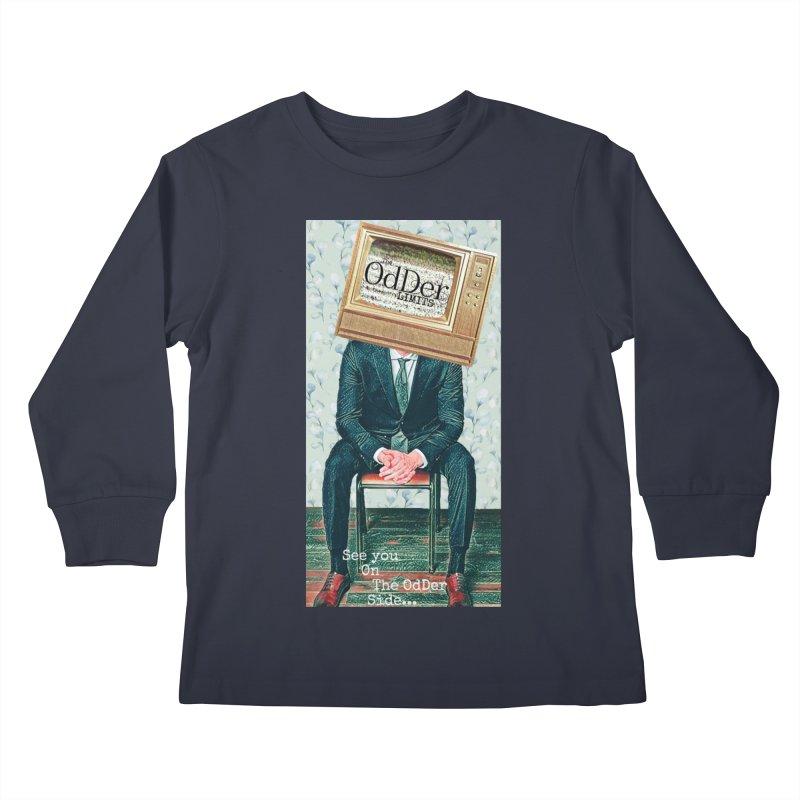 The OdDer TV Kids Longsleeve T-Shirt by The OdDer Limits Shop