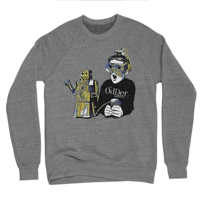 Robits Men's Sweatshirt by The OdDer Limits Shop