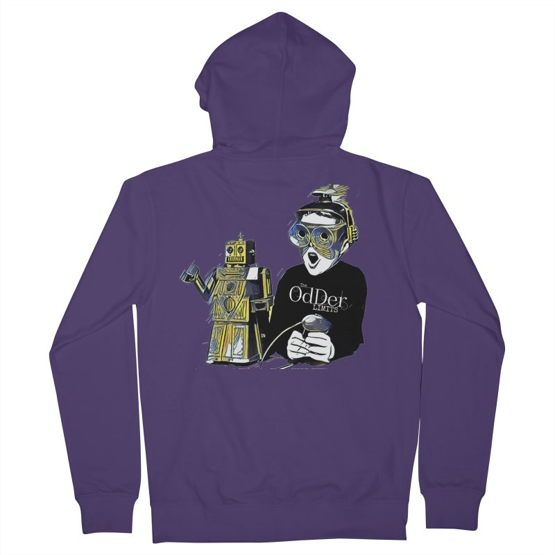Robits Women's Zip-Up Hoody by The OdDer Limits Shop