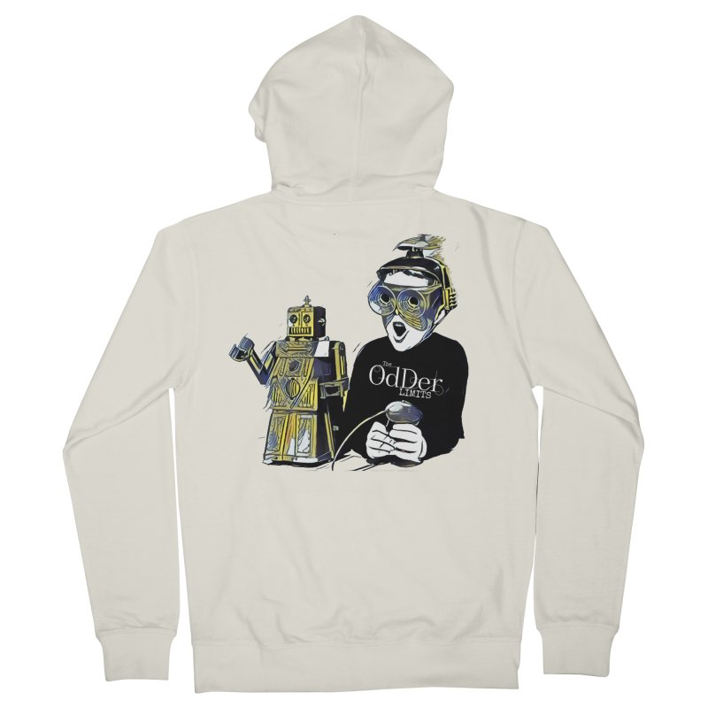 Robits Men's Zip-Up Hoody by The OdDer Limits Shop