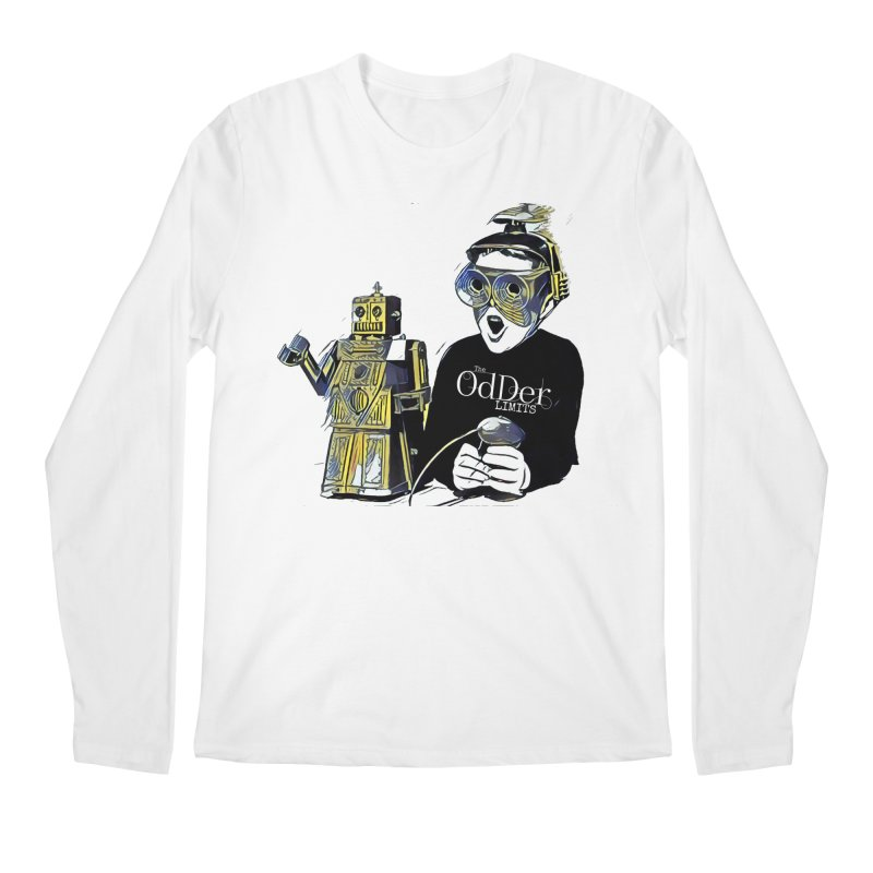 Robits Men's Longsleeve T-Shirt by The OdDer Limits Shop
