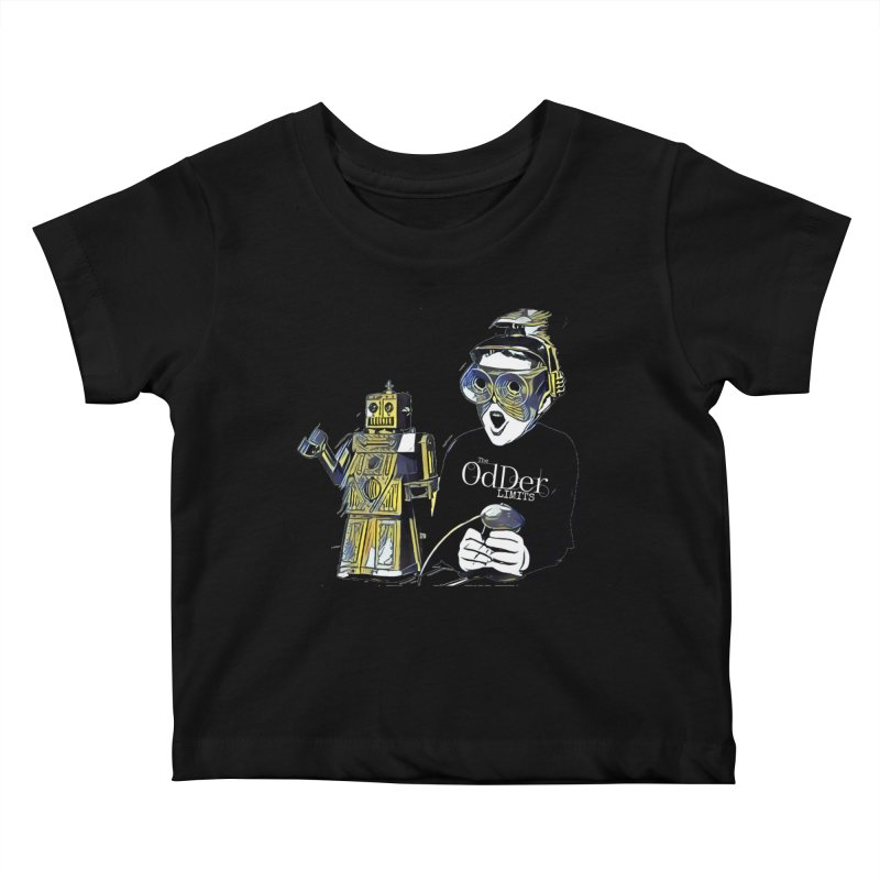Robits Kids Baby T-Shirt by The OdDer Limits Shop