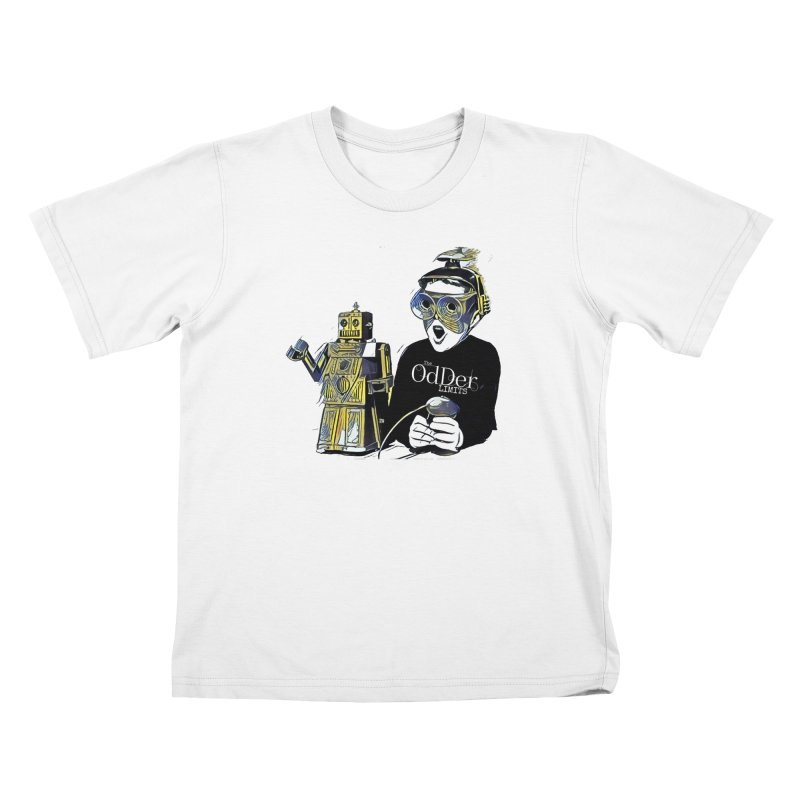 Robits Kids T-Shirt by The OdDer Limits Shop