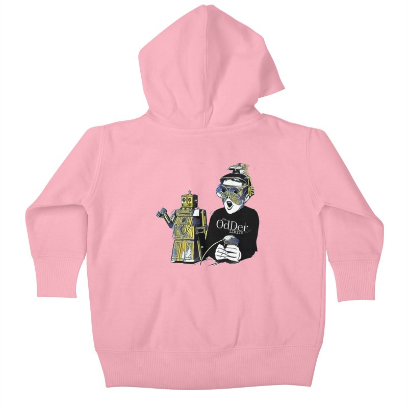 Robits Kids Baby Zip-Up Hoody by The OdDer Limits Shop