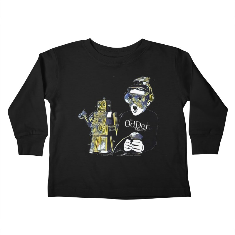 Robits Kids Toddler Longsleeve T-Shirt by The OdDer Limits Shop