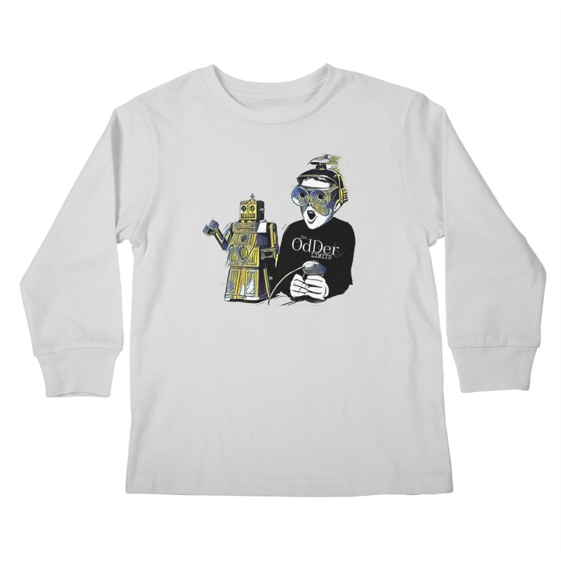 Robits Kids Longsleeve T-Shirt by The OdDer Limits Shop